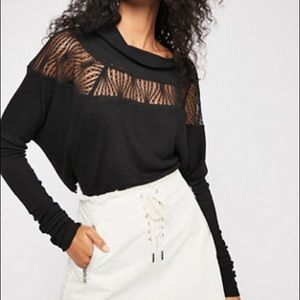 Free people knit top